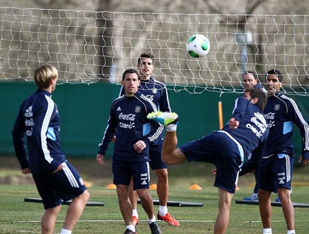 argentina treino (Foto: Divulgação/AFA)