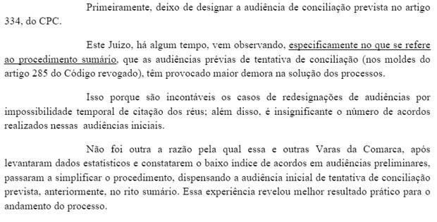 """Em decisão da 6ª Vara Cível de Ribeirão Preto, juíza afirma que o número de acordos nas audiências é """"insignificante"""". (Foto: Reprodução)"""