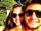 Bruno Gissoni posta foto com  a namorada: 'Melhor companhia'