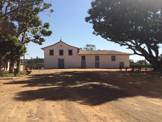 Igreja Nossa Senhora da Escada, em Guararema (Foto: Cristina Requena/G1)