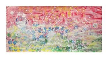 Uma das pinturas de Iris (Foto: divulgação/ Iris Grace)