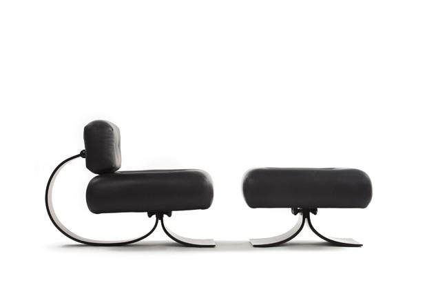 A Poltrona Alta, criada por Oscar Niemeyer e sua filha Anna Maria em 1970, é produzida hoje pela Etel (Foto: divulgação)