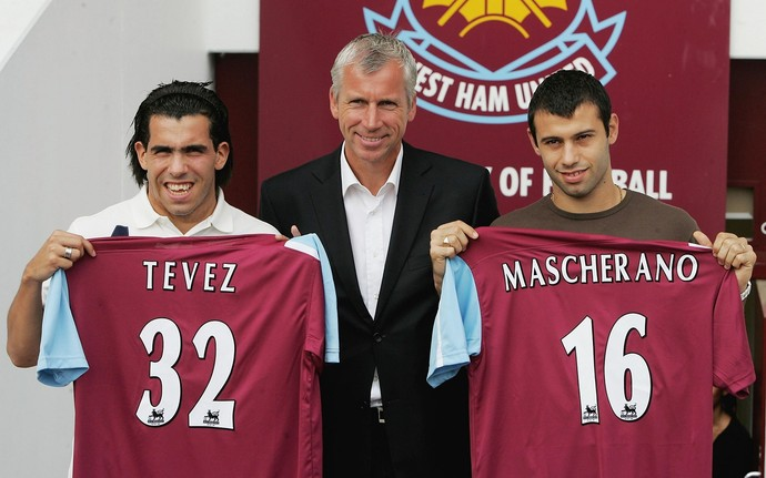 Tevez Mascherano West Ham (Foto: Getty Images)