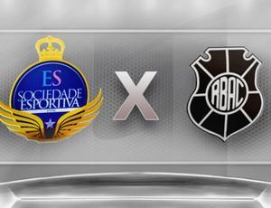 Esse X Rio Branco-ES (Foto: Globoesporte.com)