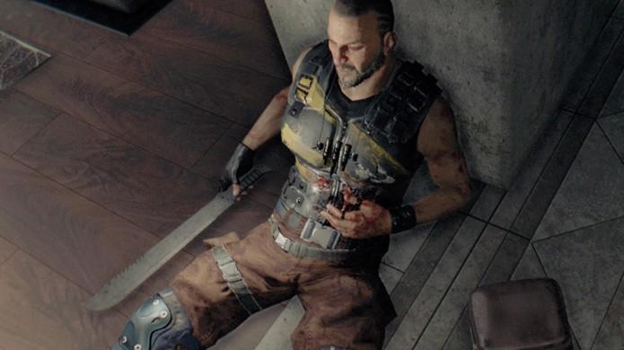 Muitos inimigos deixam armas para trás após serem mortos em Dying Light (Foto: Reprodução/Rafael Monteiro)
