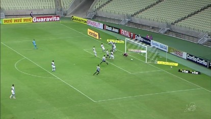 Ceará perde para o Santa Cruz por 3 a 1