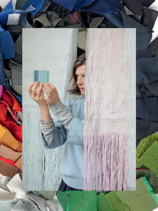 Hella Jongerius, a designer das composições cromáticas (Foto: Roel van Tour e divulgação)