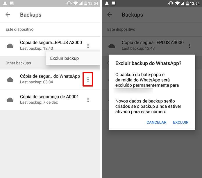 Google Drive permite excluir backup de aplicativos e celulares para liberar espaço (Foto: Reprodução/Elson de Souza)