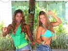 Denise Rocha aprende a sambar