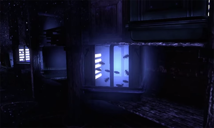 Vilão tem sala secreta no game (Foto: Reprodução)