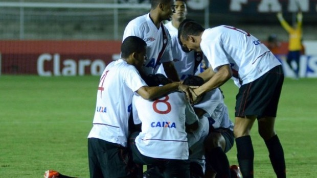 Atlético-PR vence o América-RN pela Copa do Brasil (Foto: Site oficial do Atlético-PR/Divulgação)