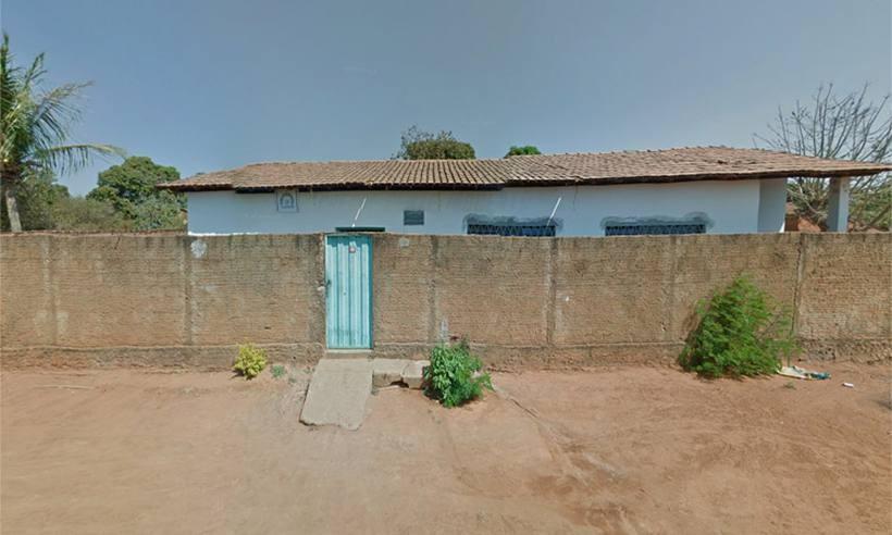 Centro Municipal de Educação Infantil Gente Inocente, no Bairro Rio Novo, em Janaúba, MG (Foto:  Reprodução / Google Street View)