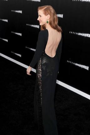 Jessica Chastain em première de filme em Los Angeles, nos Estados Unidos (Foto: Kevin Winter/ Getty Images/ AFP)