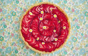 Torta de morango Strawberry Fields Forever