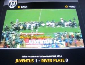 Juventus arquivo jogo Mundial campeão (Foto: Cahê Mota / Globoesporte.com)