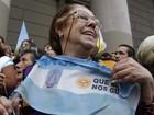 Argentina tem gritos de 'viva o Papa'  (Agustin Marcarian/Reuters)