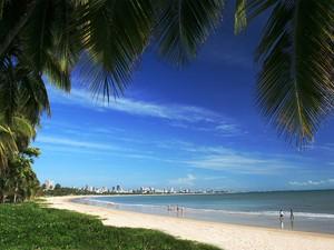 Prais do Litoral paraibano são opções para o fim de semana; máxima será de 30º C (Foto: Adgley Delgado/Secom-PB)