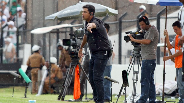 Técnico Marquinhos Santos no Coritiba (Foto: Divulgação / Site oficial do Coritiba)