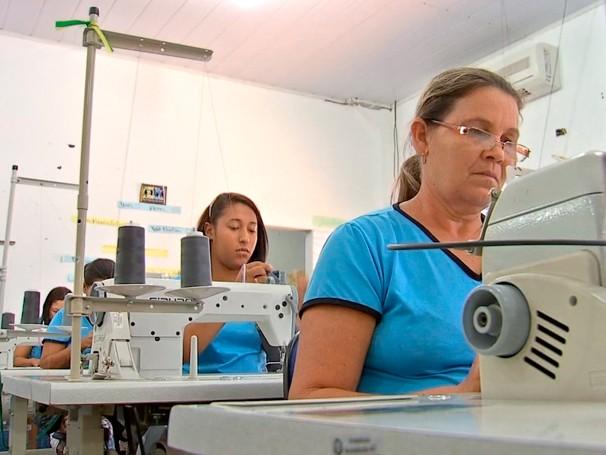 Moradoras de assentamentos participam do Japuíra (Foto: Globo)