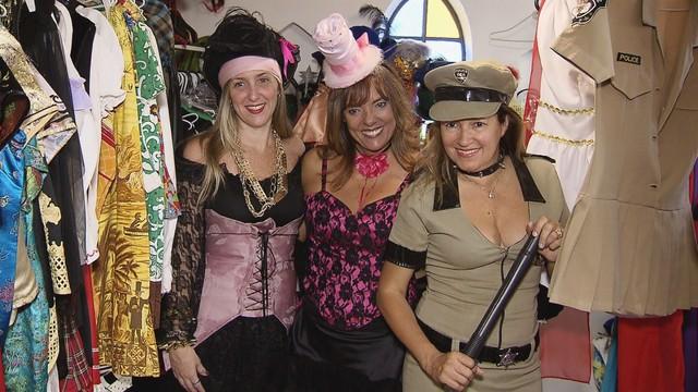 Opções de fantasias para o Carnaval (Foto: Reprodução / TV tribuna)