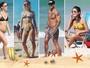 Inverno? Famosos aproveitam calor de 35º C em praias do Rio