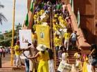 Congado reúne ternos de várias cidades   (Reprodução/TV Integração)