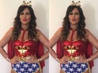 Carol Sampaio celebra cinco anos do Baile da Favorita: 'Realizada'