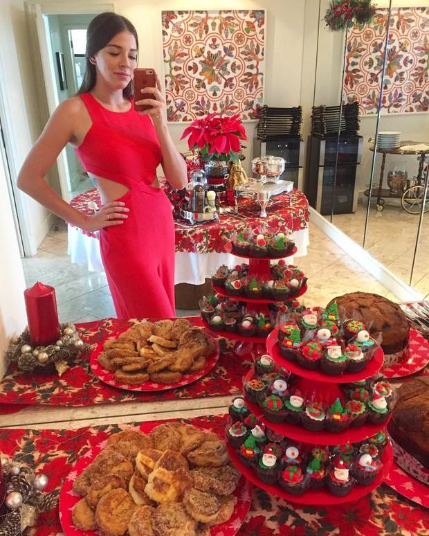 Luma Costa comemora Natal  (Foto: Reprodução do Instagram)