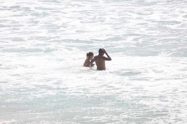 Paolla Oliveira e Rogério Gomes (Foto: AgNews)