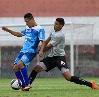 São Bento x Paulista jogo-treino Fábio Bahia (Foto: Jesus Vicente / Repórter Autônomo)