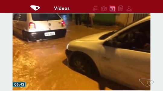 Temporal deixa famílias desalojadas e provoca estragos na Serra, ES