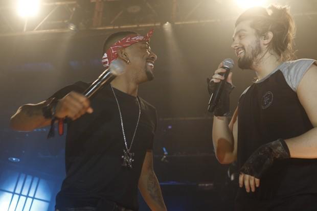 Luan Santana e Nego do Borel (Foto: Fred Pontes/divulgação)