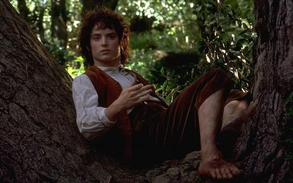 O ator Elijah Wood como o hobbit Frodo em cena de 'O Senhor dos Anéis' (Foto: Reprodução)