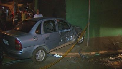 Acidente causa congestionamento em cruzamento de Ribeirão Preto, SP