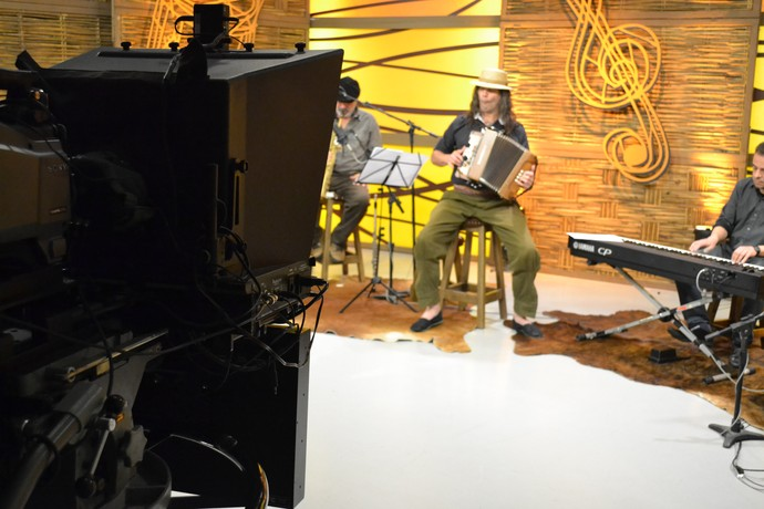 Renato Borghetti Galpão Crioulo (Foto: Divulgação/RBS TV)