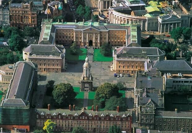 Trinity College Dublin na Irlanda (Foto: Wikimedia Commons/Wikipedia)