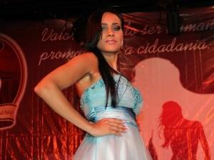 Amanda Tayslane é a Miss Penintenciária 2012 (Foto: Taísa Arruda/G1)