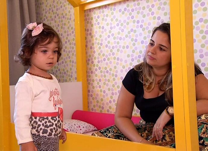 Thaíssa planejou um quarto montessoriano para a pequena Liz (Foto: Rio Sul Revista)