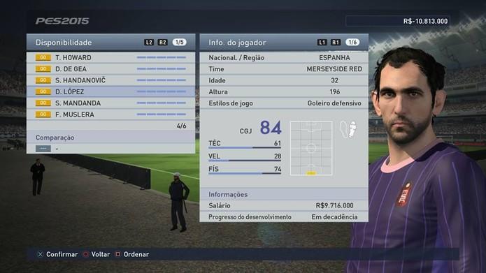 Goleiro do Milan é um espanhol muito talentoso (Foto: Reprodução/Thiago Barros)