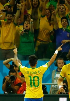 neymar brasil x croacia (Foto: Reuters)