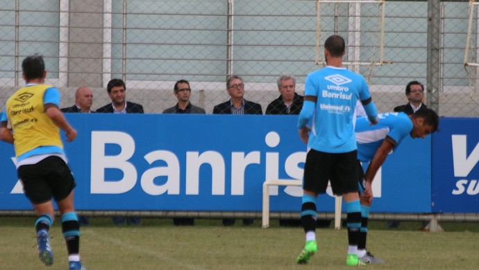 Treino do Grêmio Alberto Guerra (Foto: Eduardo Moura/GloboEsporte.com)