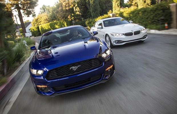 Choque de culturas: Ford Mustang 2.3 Ecoboost encara BMW 435i