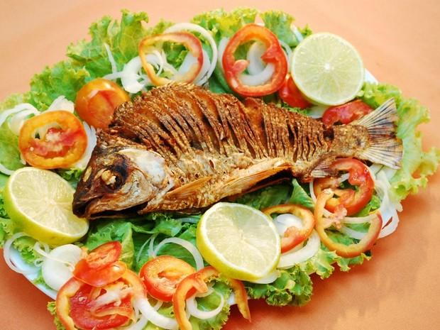 Jaraqui, peixe típico da região (Foto: Reprodução TV Amazonas)