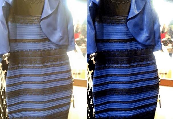 Afinal O Vestido é Branco E Dourado Ou Azul E Preto