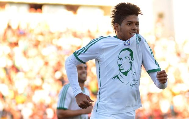 Leandro gol Palmeiras (Foto: Levi Bianco / Ag. Estado)