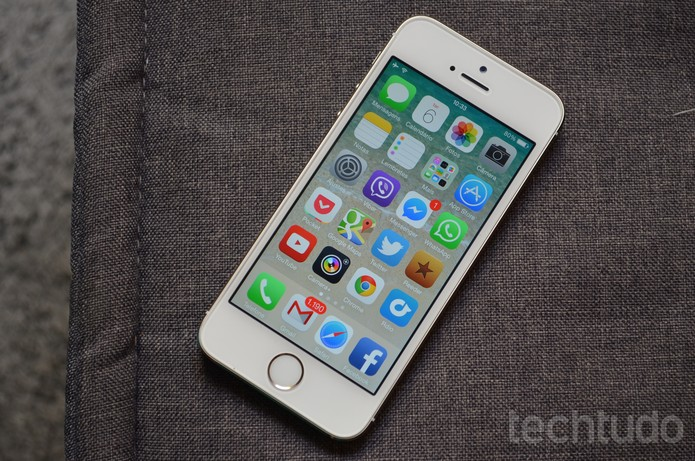 iphone 5s (Foto: Luciana Maline/TechTudo)