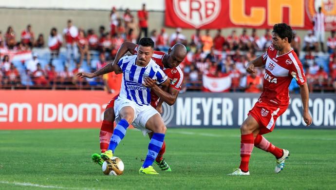 CRB x CSA, no Rei Pelé (Foto: Ailton Cruz/Gazeta de Alagoas)