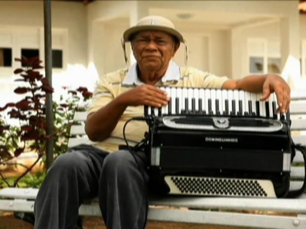 Dominguinhos, afilhado musical de Luiz Gonzaga (Foto: Reprodução Globo News)