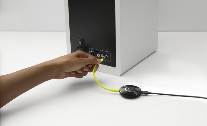 Chromecast audio (Foto: Divulgação/Google)