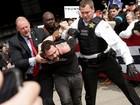 Trump culpa eleitores de Sanders de incitar violência antes de comício
